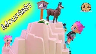 Lol Surprise Doll Mountain Climb !  Shopkins, Playmobil Video