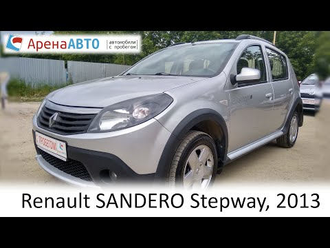 Renault SANDERO Stepway, 2013