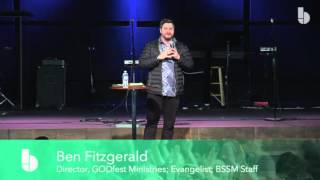 Ben Fitzgerald - How to get strong in God