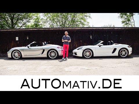 Porsche Boxster GTS (981) vs. 718 Boxster S im Test - Vergleich und Fahrbericht