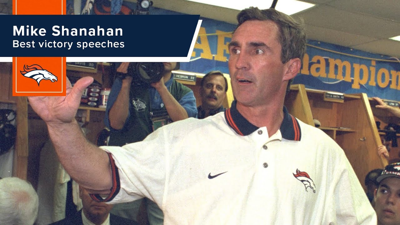 'The Mastermind' Mike Shanahan's best victory speeches