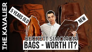 Beckett Simonon Bags Review - 5 Years Later (Weekender, Briefcases, Backpacks)