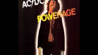 AC/DC Powerage - Down Payment Blues Lyrics: I know that it's evil I...