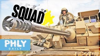 M3 BRADLEY MultiCrew  25mm  AUTO CANNON IFV Support Squad Gameplay
