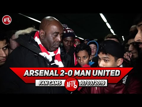 Arsenal 2-0 Man United | Top 4 Is In Our Hands!