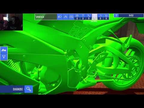 tur att de inte är mycket att göra I Biker Garage Mechanic Simulator I |