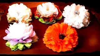 Как сделать Красивые цветы из бумаги своими руками(Как сделать Красивые цветы из бумаги своими руками - смотрите мой мастер класс по изготовлению очень красив..., 2014-12-25T19:17:07.000Z)