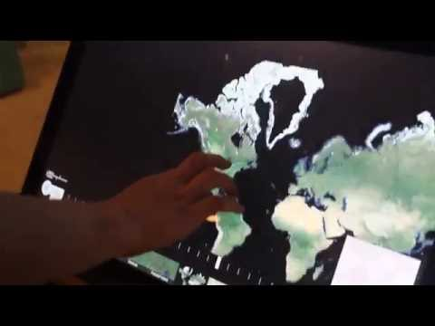 Earth Timelapse at the Carnegie Museum of Natural History