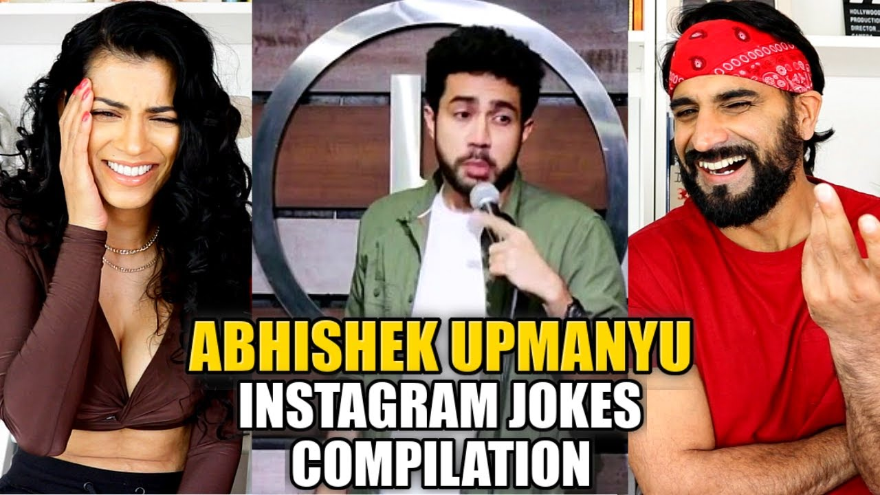 Download ABHISHEK UPMANYU - Instagram Jokes Compilation(Colorblindness, Cycle, Students) | Stand Up REACTION!