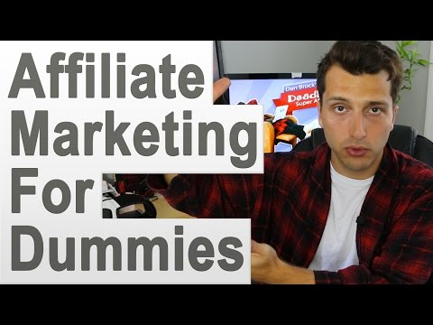 Affiliate Marketing for Dummies (and Lazy People)