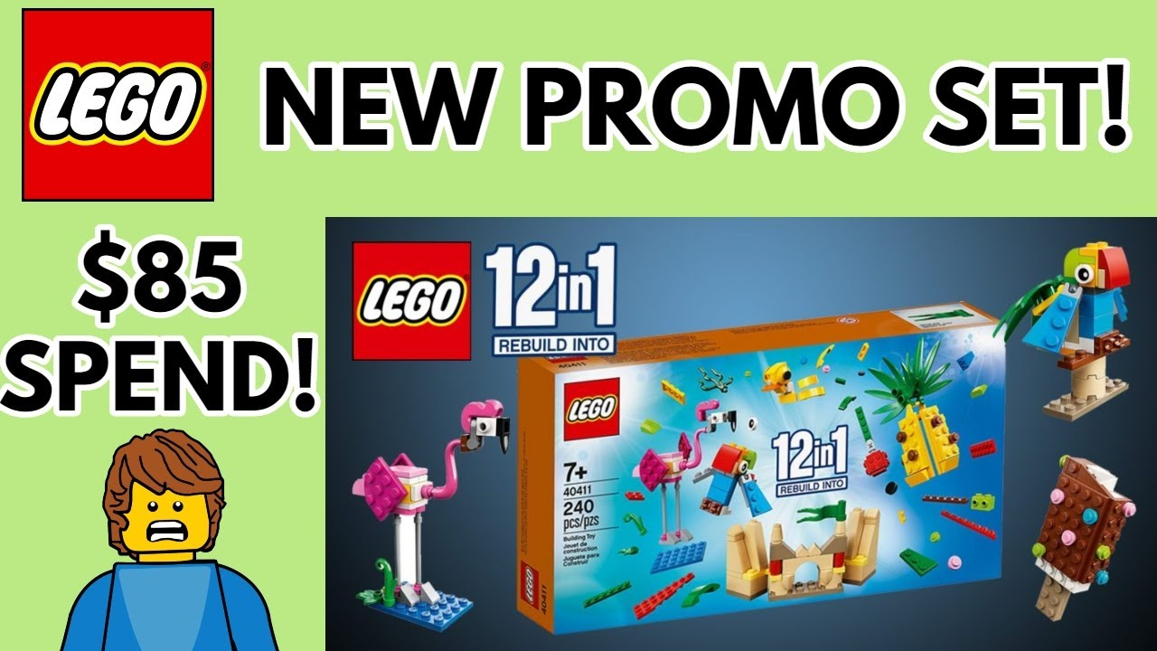 Details about  /LEGO 40411 Creative Fun 12-in-1  Exclusive Promotional July 2020 in hand