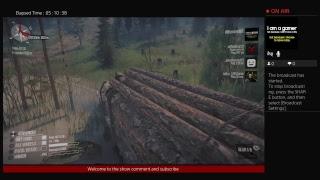 Mud runner play through With rhonda 4k uhd ps4  1080p stream  follow n subscribe!!!!