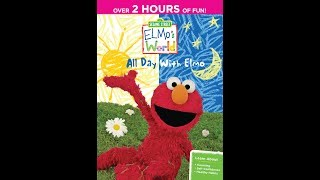 Elmo's World: All Day With Elmo (2013 DVD)