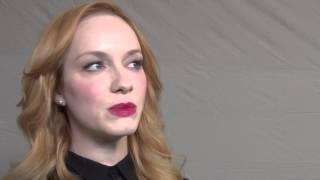 Mad Men: Christina Hendricks Exclusive Interview
