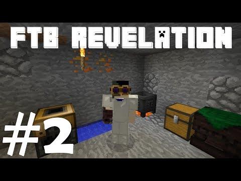 FTB Revelation - Starting Thaumcraft And Tinkers! [Ep2] (Modded