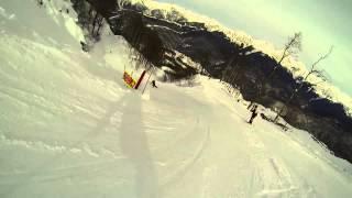 Роза Хутор 2015 (Красная поляна), январь, горные лыжи(Неспешные лыжные покатушки на Красной поляне от http://vk.com/men.vadim :), 2015-01-27T07:22:33.000Z)