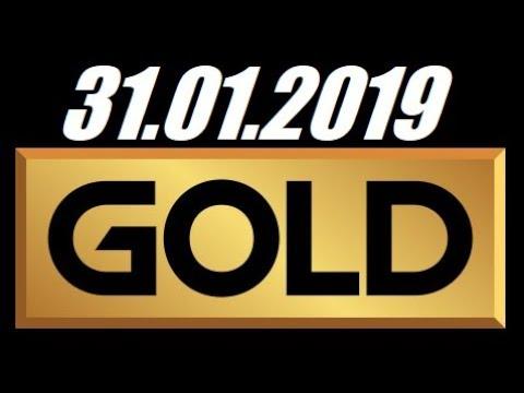 Обзор цены на золото GOLD (XAU/USD) - 31.01.2019