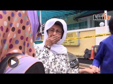 Dalam tangisan, Siti Hasmah geram orang bertanggungjawab terlepas