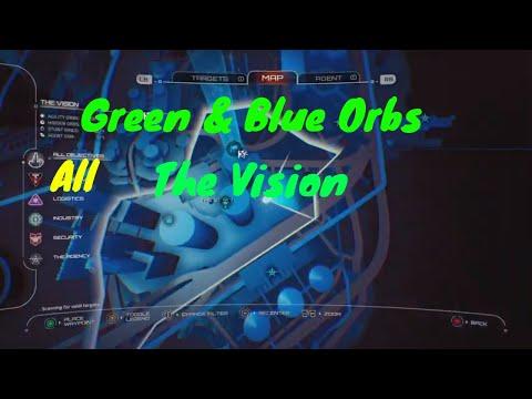 Crackdown 3 : All The Vision All Hidden Blue Orbs /All Green Orbs