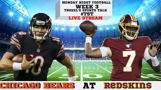 Monday Night Football: Week 3: Chicago Bears @ Washing Redskins: Game Audio/Score Only