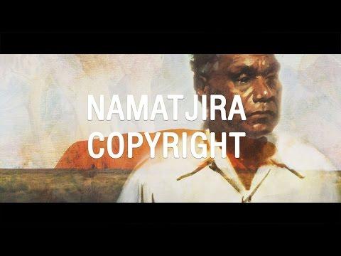 Albert Namatjira copyright - The Feed