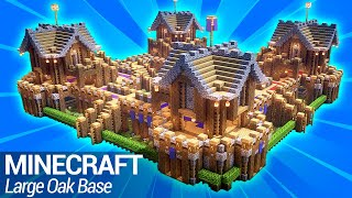 How to build a Large Base in Minecraft: Easy Minecraft Survival Base Tutorial