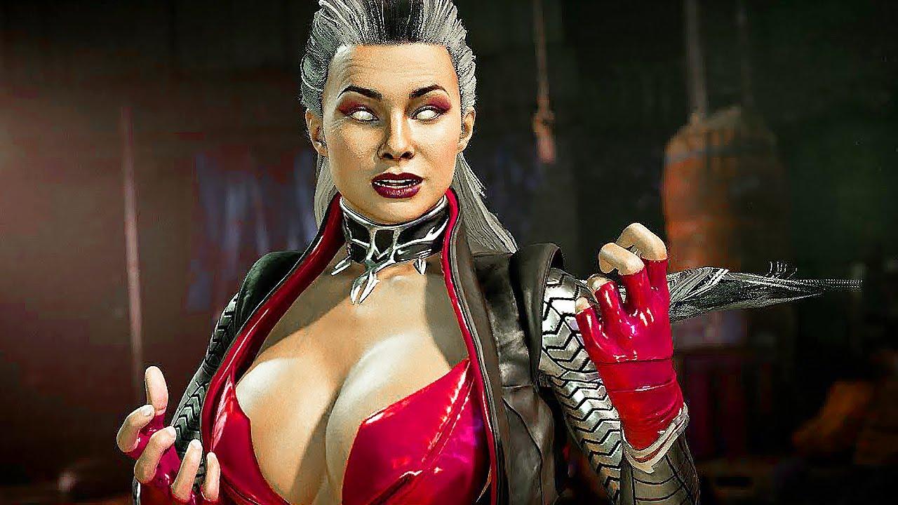 Mortal Kombat Evil Sindel Vs Smoke Jade Kitana Smoke