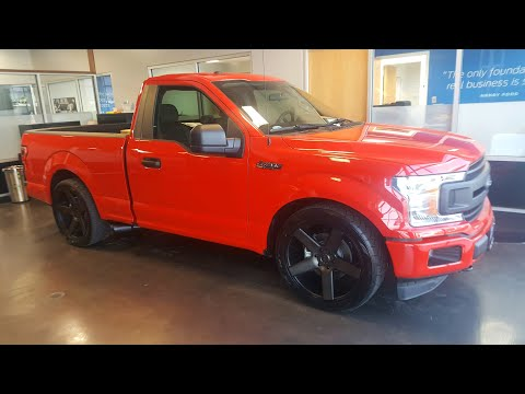 Supercharged 2019 Ford F150 FX4 5.0 single cab short bed