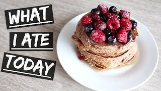 What I Ate Today #4 | How I Lost 15kgs | HEALTHY Pancakes!
