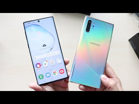 Samsung Galaxy Note 10 & Note 10 Plus Unboxing