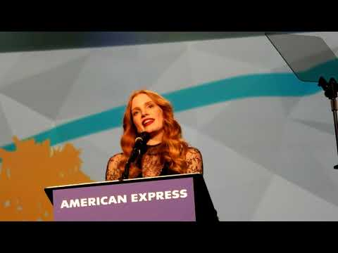 Jessica Chastain - Chairman's Award - Palm Springs Film Fest - 1-2-18