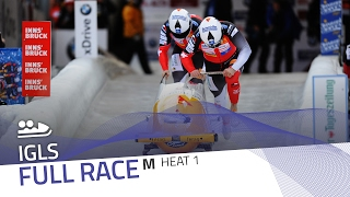 Igls | BMW IBSF World Cup 2016/2017 - 2-Man Bobsleigh Heat 1 | IBSF Official