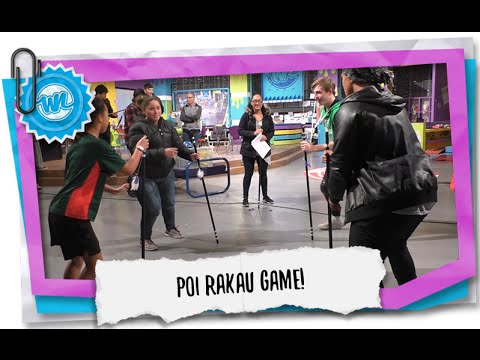 Traditional Maori Game - Poi Rakau! | What Now