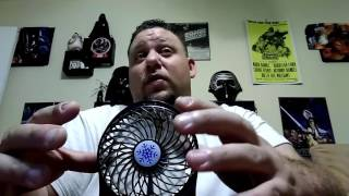 EBay Rechargeable Fan Review $9