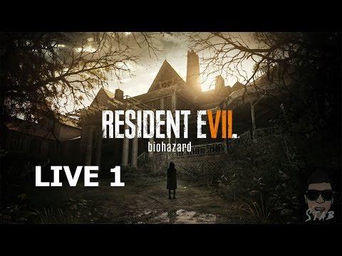 AO VIVO - RESIDENT EVIL 7 - BIOHAZARD - #GAMEPLAY1