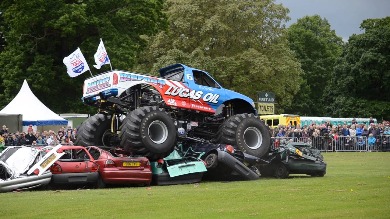 Bigfoot At Harewood House Classic Car Show Th June YouTube - Monster car show