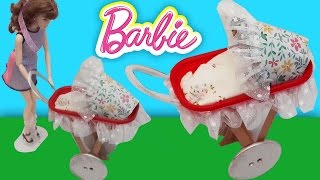 Video Barbie Bebek Arabası Yapımı | Oyuncak Butiğim download MP3, 3GP, MP4, WEBM, AVI, FLV November 2017