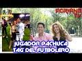Tag del Futbolero con Jugador del Pachuca| Axel Villagran