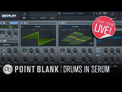 Drum Synthesis in Xfer Serum (FFL!)