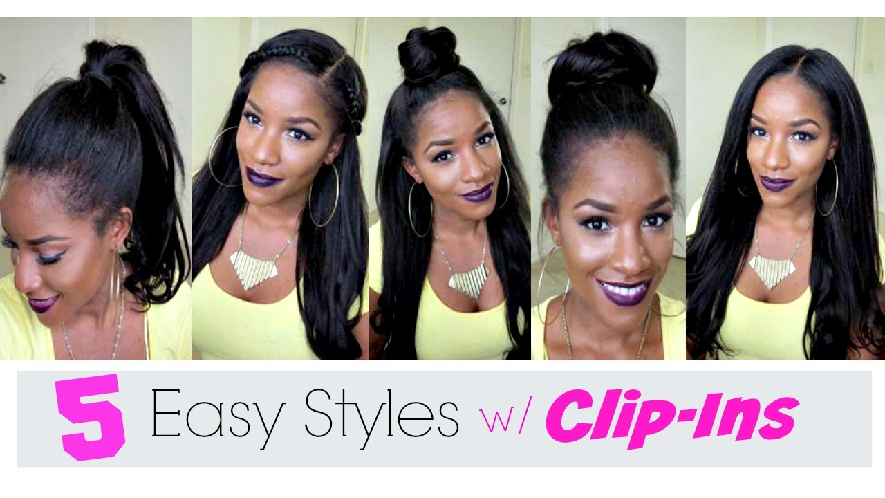 5 Simple Ways To Style Clip In Extensions YouTube