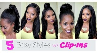 5 Simple Ways to Style Clip-In Extensions
