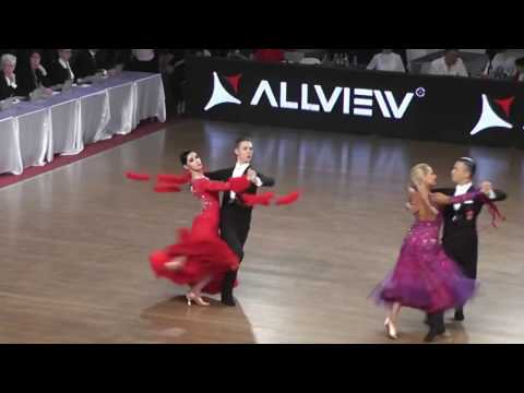 DANCE MASTERS 2017* RAUL SI ANDRA*WDSF WORLD OPEN STANDARD* TANGO