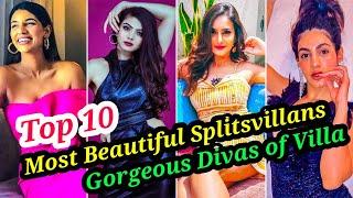 TOP 10 THE MOST BEAUTIFUL FEMALE SPLITSVILLA CONTESTANTS OF ALL TIME   THE ULTIMATE DIVAS OF VILLA