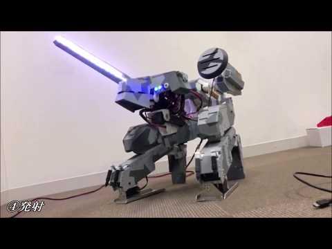METAL GEAR REX のロボット作ってみた ~METALGEAR REX radio control project~