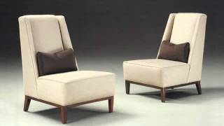 Armless Accent Chairs : Living Room Chairs