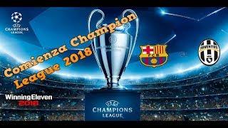 UEFA champions league PES 2018-partido 1