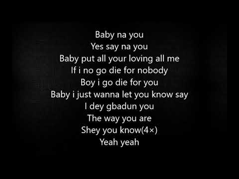 Di'ja ft Tiwa savage- The way you are (Lyrics)