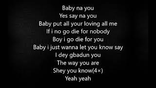 Di'ja ft Tiwa savage- The way you are (Lyrics)