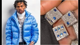 Lil Baby Buys World Most Expensive Dice With VVS Diamonds Embedded