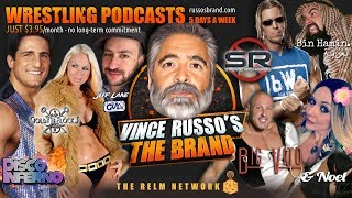 Welcome to Vince Russo's THE BRAND Pop Culture & Entertainment Network